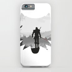 The white wolf iPhone 6 Slim Case