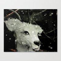 A Little Winter Magic Canvas Print