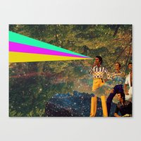 I Don't Know Canvas Print