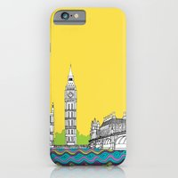 iPhone & iPod Case featuring London Town by bluebutton studio