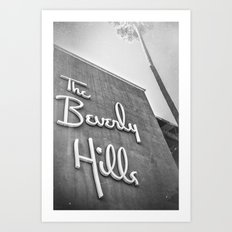 The Beverly Hills Hotel Art Print