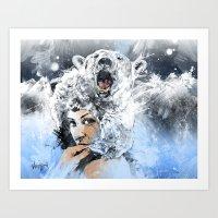 Arctic Tears Art Print