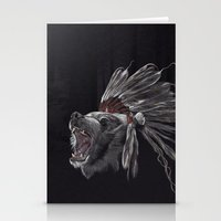 Running Bear - Updated Stationery Cards