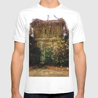 Nature Finds The Way Ins… Mens Fitted Tee White SMALL