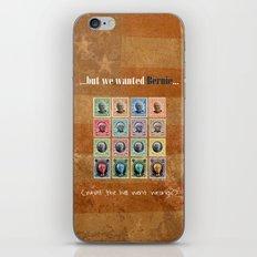 We wanted Bernie iPhone & iPod Skin