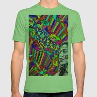 A Colorful Vision  Mens Fitted Tee Grass SMALL