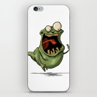 Slimer and his Peep iPhone & iPod Skin