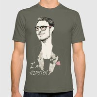 I´m hipster  Mens Fitted Tee Lieutenant SMALL