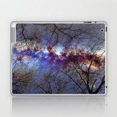 Fantasy stars. Milkyway through the trees. Laptop & iPad Skin