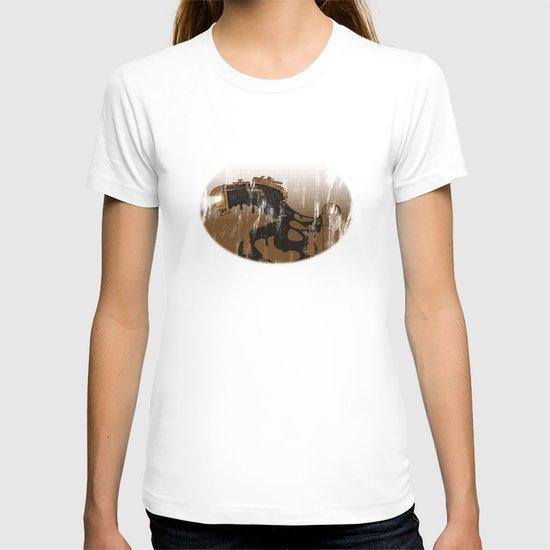 oil monster T-shirt