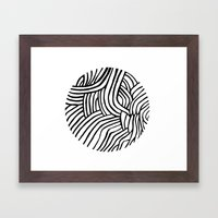 Circle Series #3 Framed Art Print