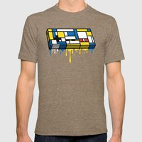 The Art Of Gaming Mens Fitted Tee Tri-Coffee SMALL
