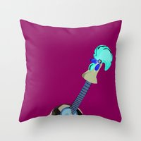 Fado, Soccer,and A Cock … Throw Pillow