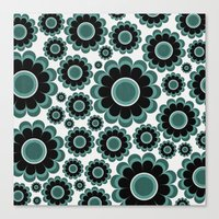 Sea Flower Canvas Print