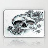 Skull & Roses Laptop & iPad Skin