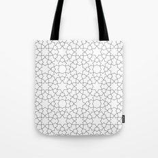 Minimalist Geometric 101 Tote Bag