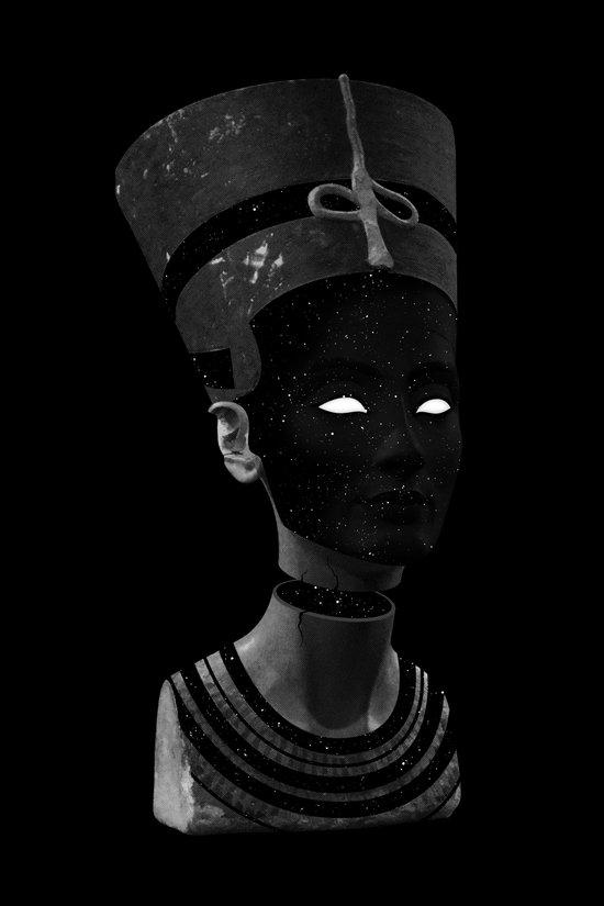 Nefertiti AD Canvas Print