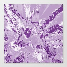 The mask - purple Canvas Print