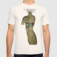 Tree Of Life Mens Fitted Tee Natural SMALL