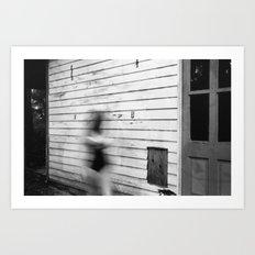 Blurred Out Art Print