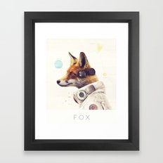 Star Team - Fox Framed Art Print