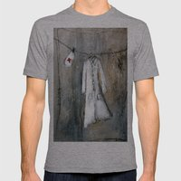 nurse Mens Fitted Tee Athletic Grey SMALL