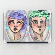 Punk Outside The Lines iPad Case