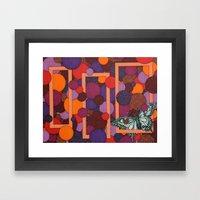Little Fly Framed Art Print