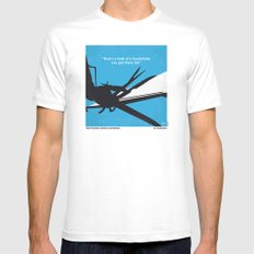 No260 My Scissorhands minimal movie poster SMALL White Mens Fitted Tee