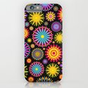 Bright And Colorful Flowers iPhone & iPod Case