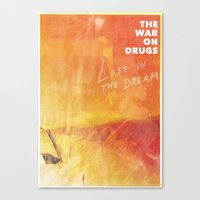 The War On Drugs - Lost In The Dream Canvas Print