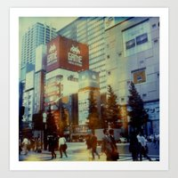 Tokyo Dreaming Polaroid Art Print