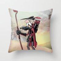 The Venerable Archer Throw Pillow