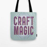 Craft Magic // Berry Tote Bag