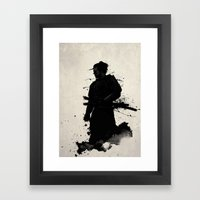 Samurai Framed Art Print