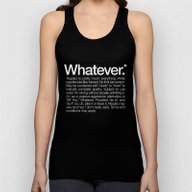 Whatever.* Applies To Pr… Unisex Tank Top
