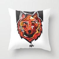 Nalubuff - Fox Throw Pillow
