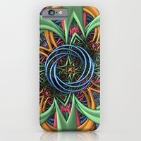iPhone Cases featuring One More Gift Under the Tree by Lyle Hatch