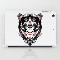 American Indian bear iPad Case