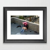 Nina. Framed Art Print