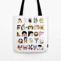 Child Of The 70s Alphabe… Tote Bag
