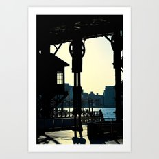 Long Island Pier Art Print