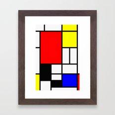 Mondrian Art Framed Art Print