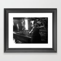 Bye, Claire Framed Art Print