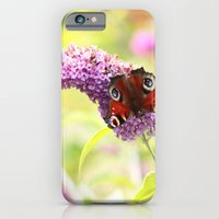 Pastel Peacock (butterfl… iPhone 6 Slim Case