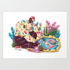Pondfish Art Print