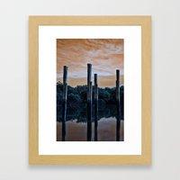 Differnt World Framed Art Print