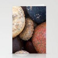 Lake Superior Beach Ston… Stationery Cards