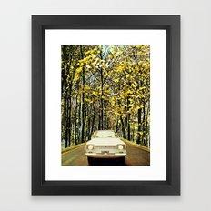 Like a vintage photo. Framed Art Print