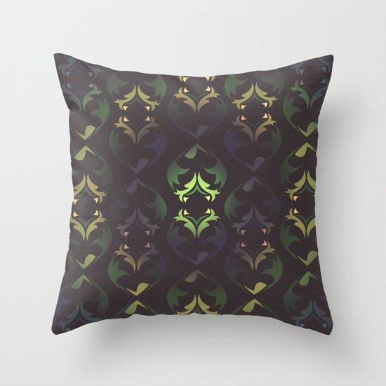 Heart Forest Throw Pillow